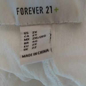 Forever 21 Dresses - White Gauze dress